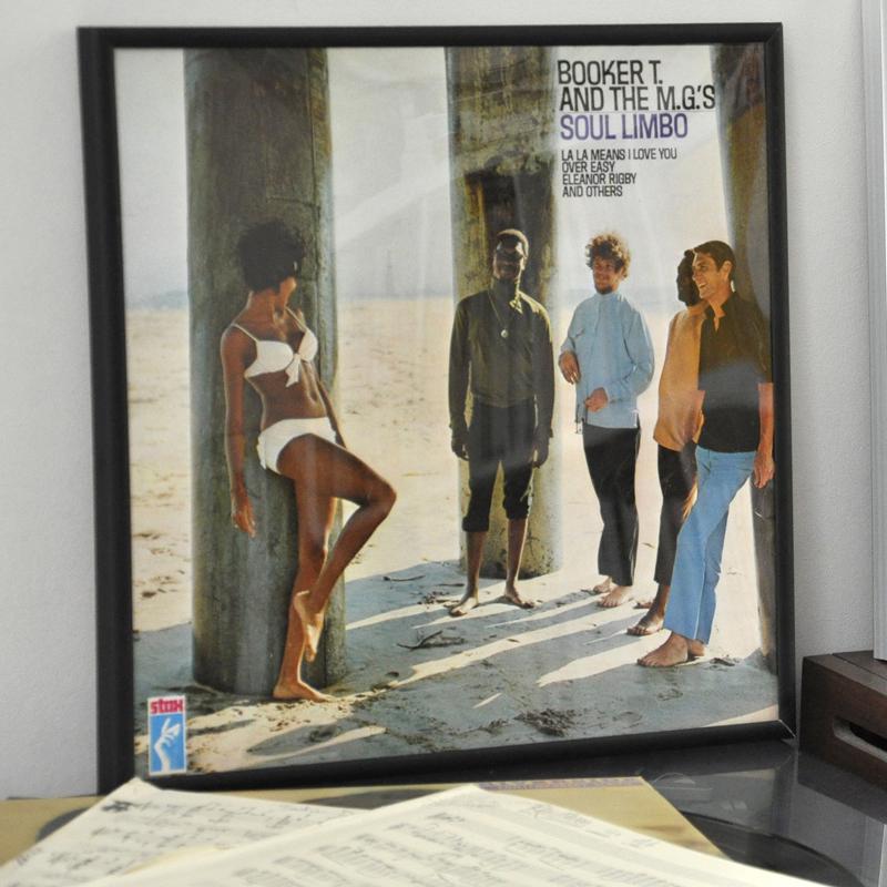 Schwarzer Rahmen Für Schallplatte | Rex London (ehemals dotcomgiftshop)