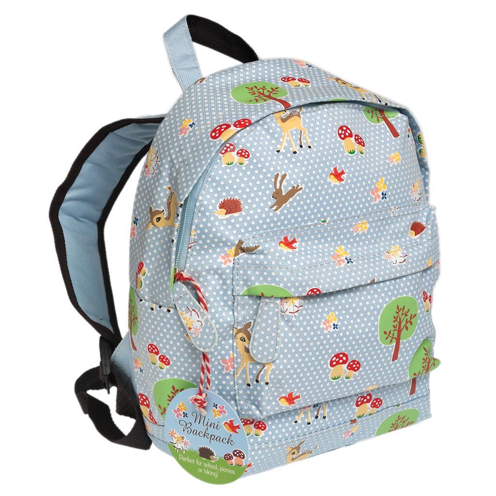 Woodland Mini Childrens Backpack Rex London Dotcomgiftshop
