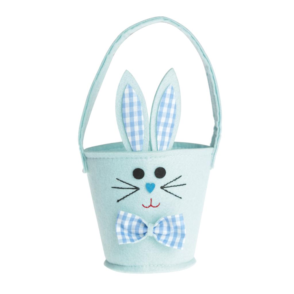 Blue bunny easter egg basket rex london dotcomgiftshop blue bunny easter egg basket negle Images