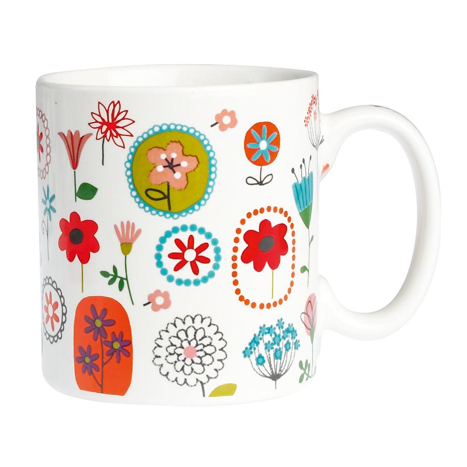 Flower Shop Design Mug Dotcomgiftshop