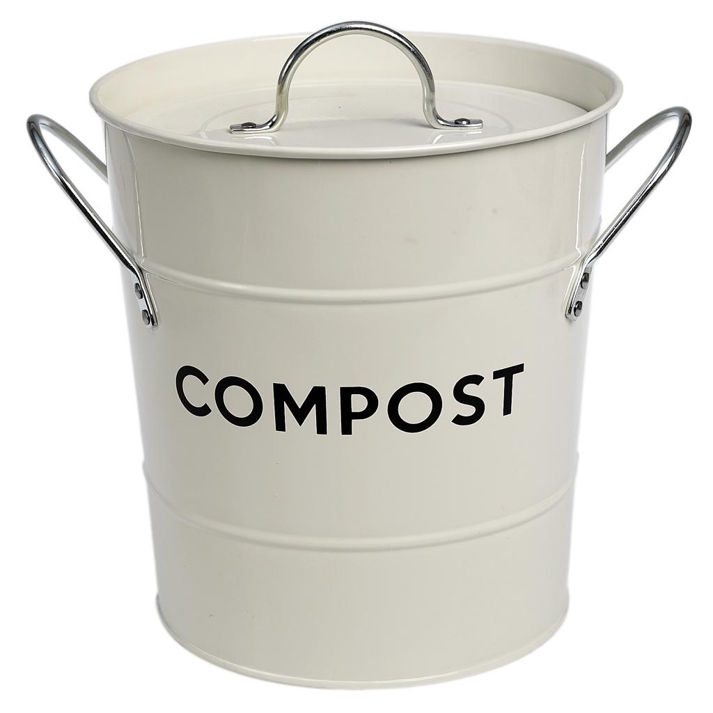 ivory compost bin dotcomgiftshop. Black Bedroom Furniture Sets. Home Design Ideas