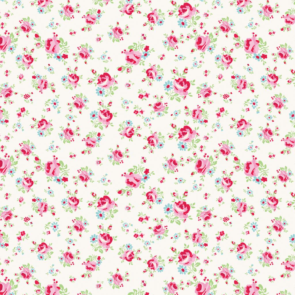 La Petite Rose Wrapping Paper 5 Sheets Dotcomgiftshop