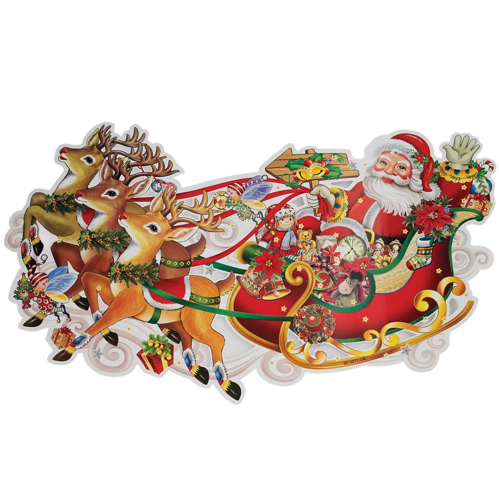 #A52626 Décoration De Noël Traîneau Père Noël Dotcomgiftshop 6083 decoration de noel train electrique 1024x1024 px @ aertt.com