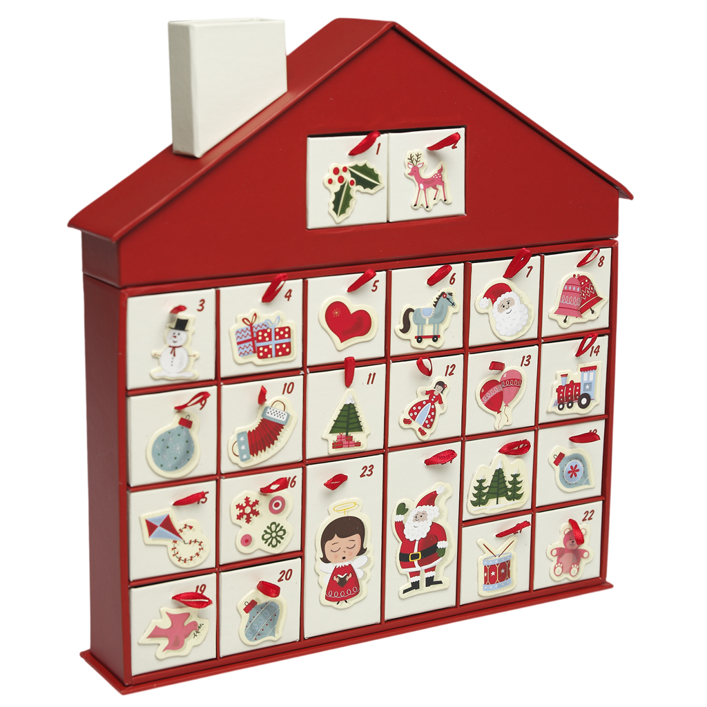 Advent Calendar Gift Ideas Uk : S christmas house advent calendar dotcomgiftshop