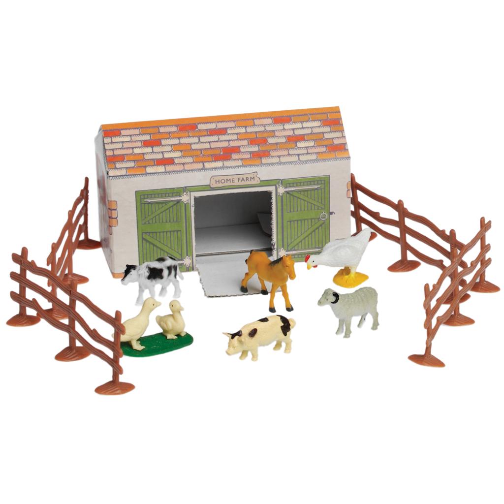 Traditional Farmyard Play Set | Rex London (dotcomgiftshop)