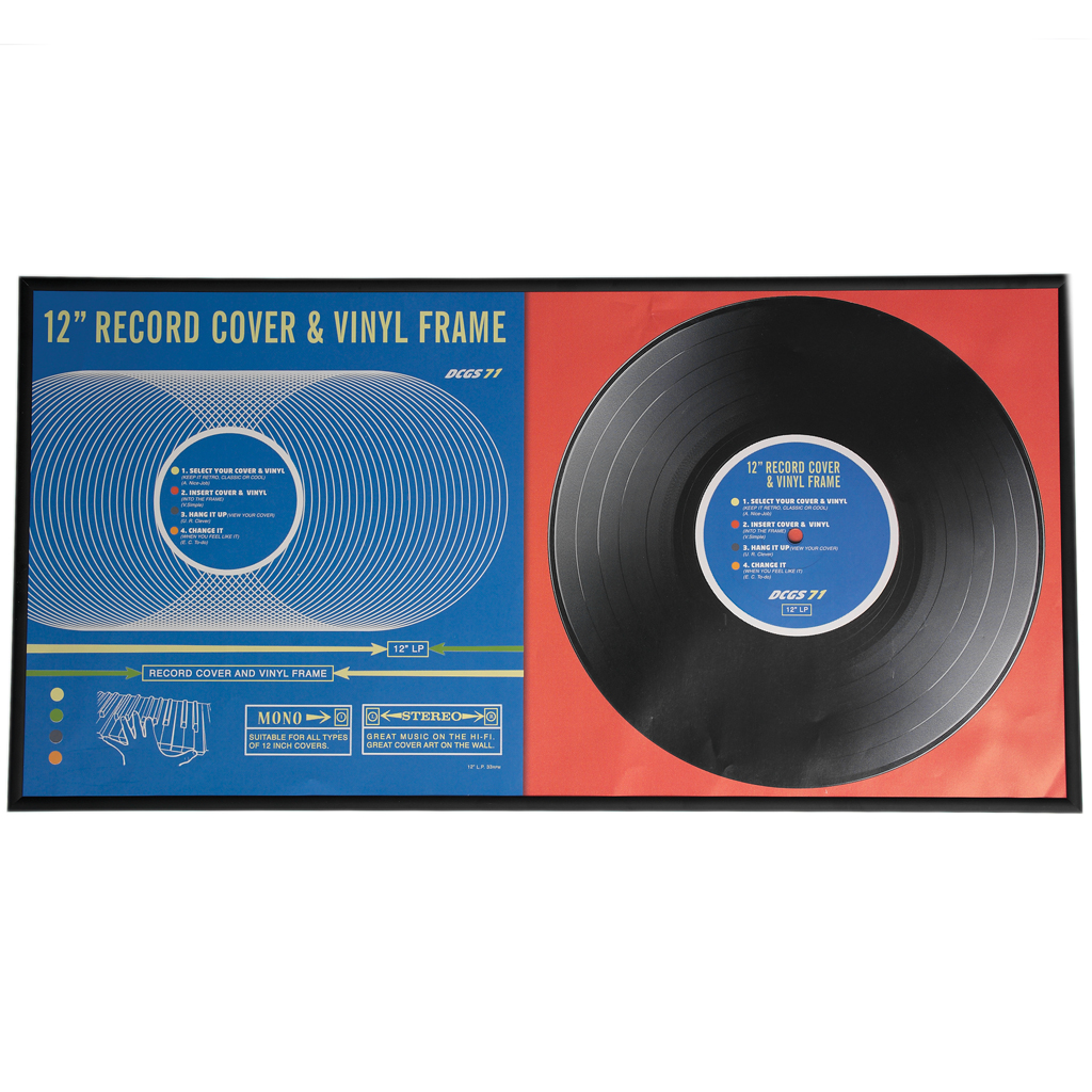 dotcomgiftshop DOUBLE ALBUM RECORD COVER FRAME FOR 12 ...