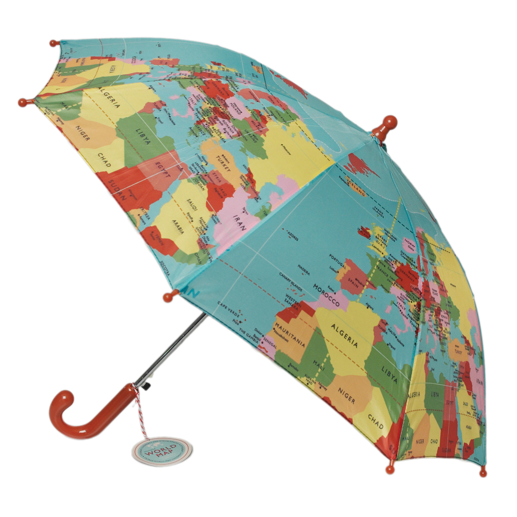 World map childrens umbrella rex london dotcomgiftshop gumiabroncs Gallery