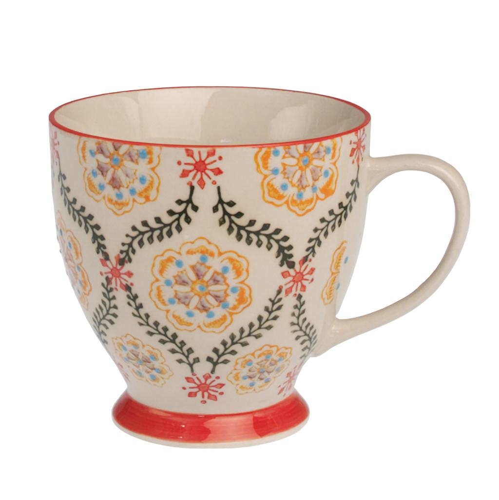 Dotcomgiftshop barcelona design small stoneware tea cup ebay - Tea shop barcelona ...
