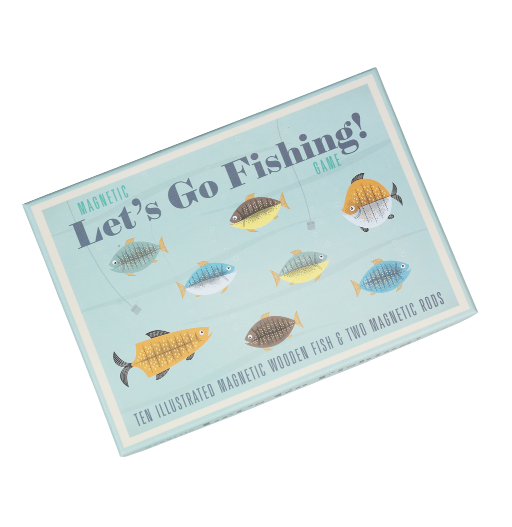 Magnetic let 39 s go fishing game rex london at dotcomgiftshop for Go go fishing