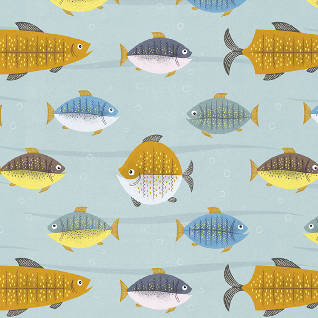 5 sheets of let 39 s go fishing wrapping paper dotcomgiftshop for Fish wrapping paper