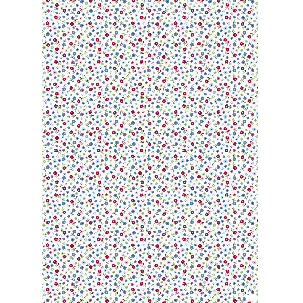 forget me not wrapping paper 5 sheets rex london dotcomgiftshop. Black Bedroom Furniture Sets. Home Design Ideas