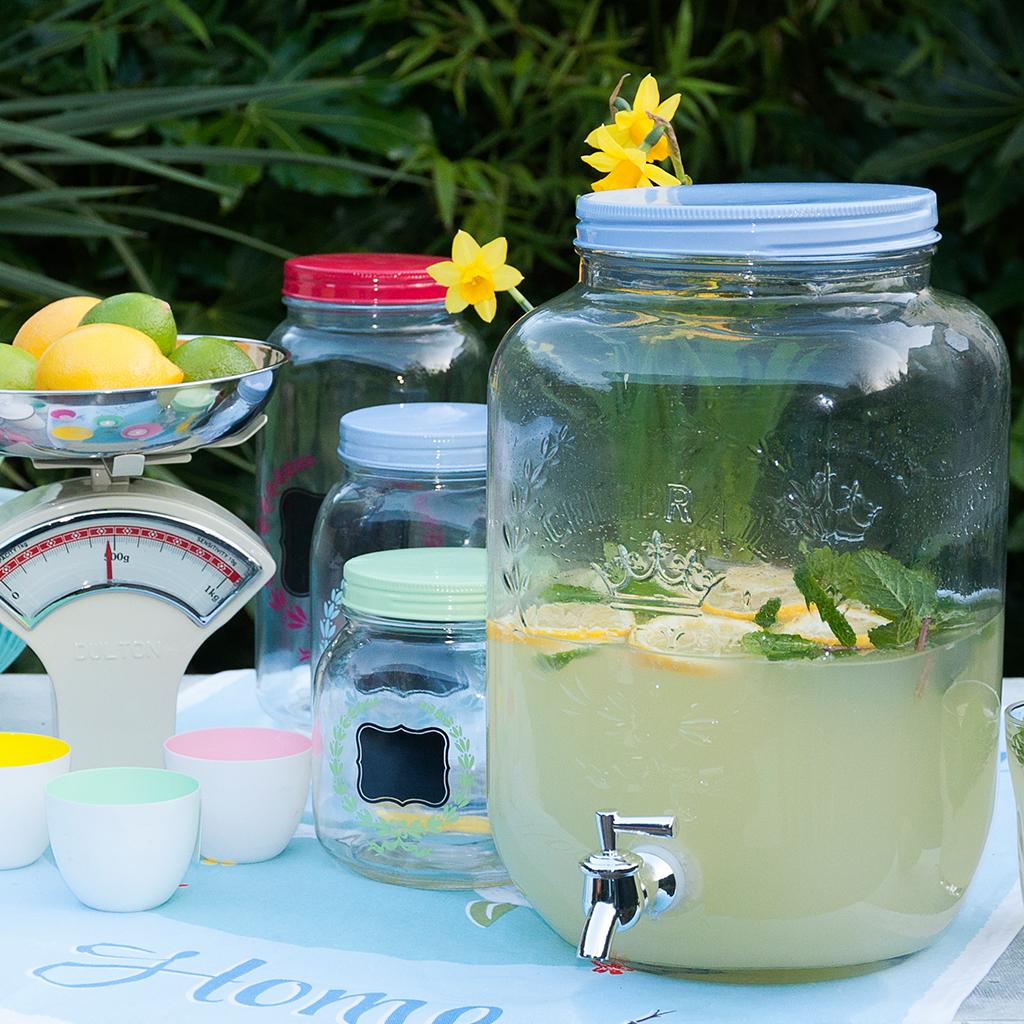 Garden Party Lemonade Drinks Dispenser | dotcomgiftshop