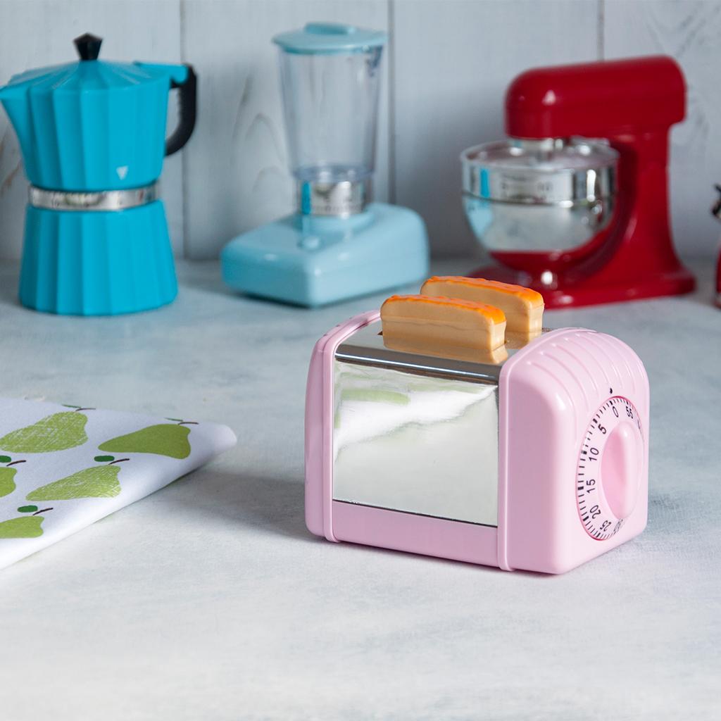 Pink Toaster Kitchen Timer | Rex London (dotcomgiftshop)