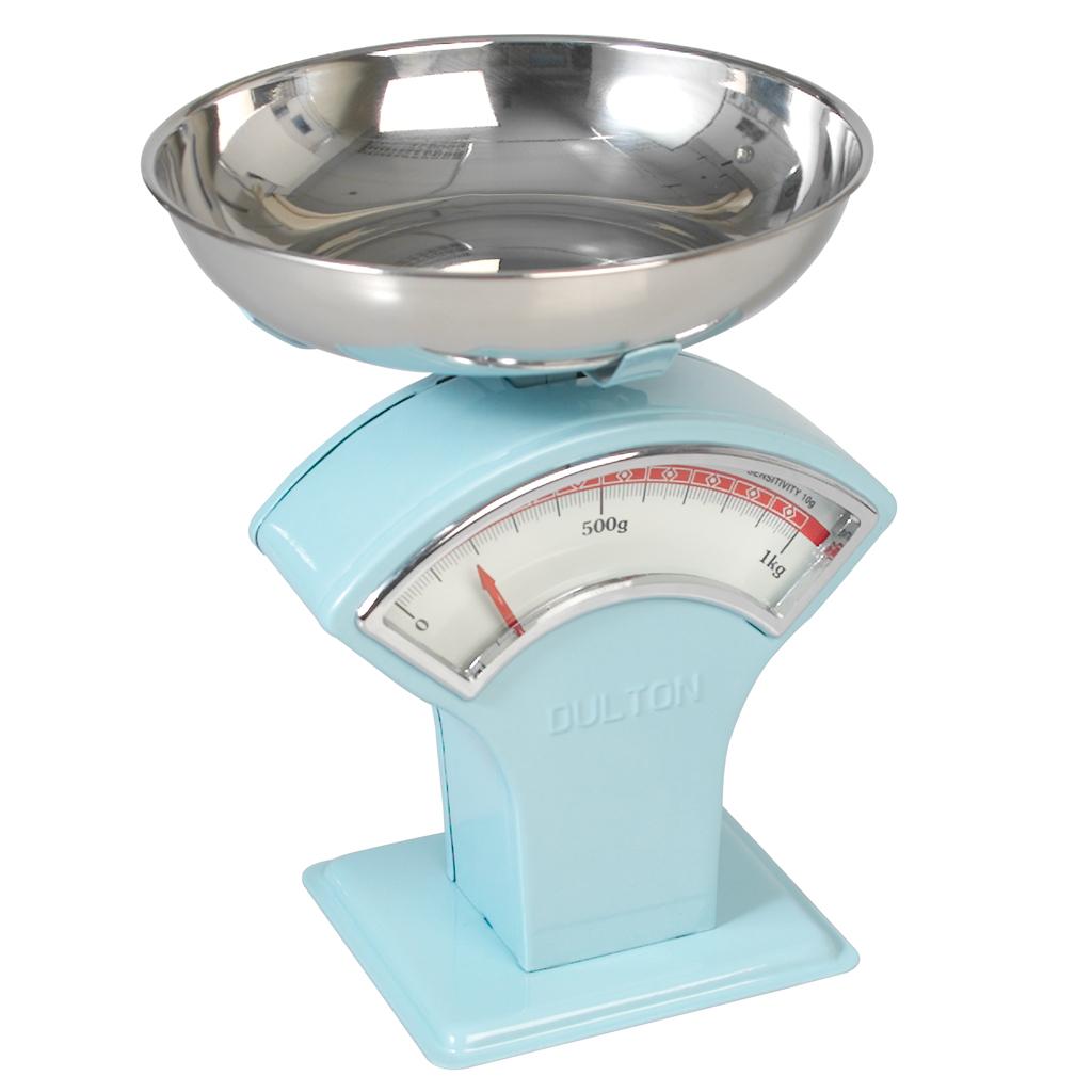 Retro Kitchen Scales Uk Vintage Shop Scales Blue Dotcomgiftshop