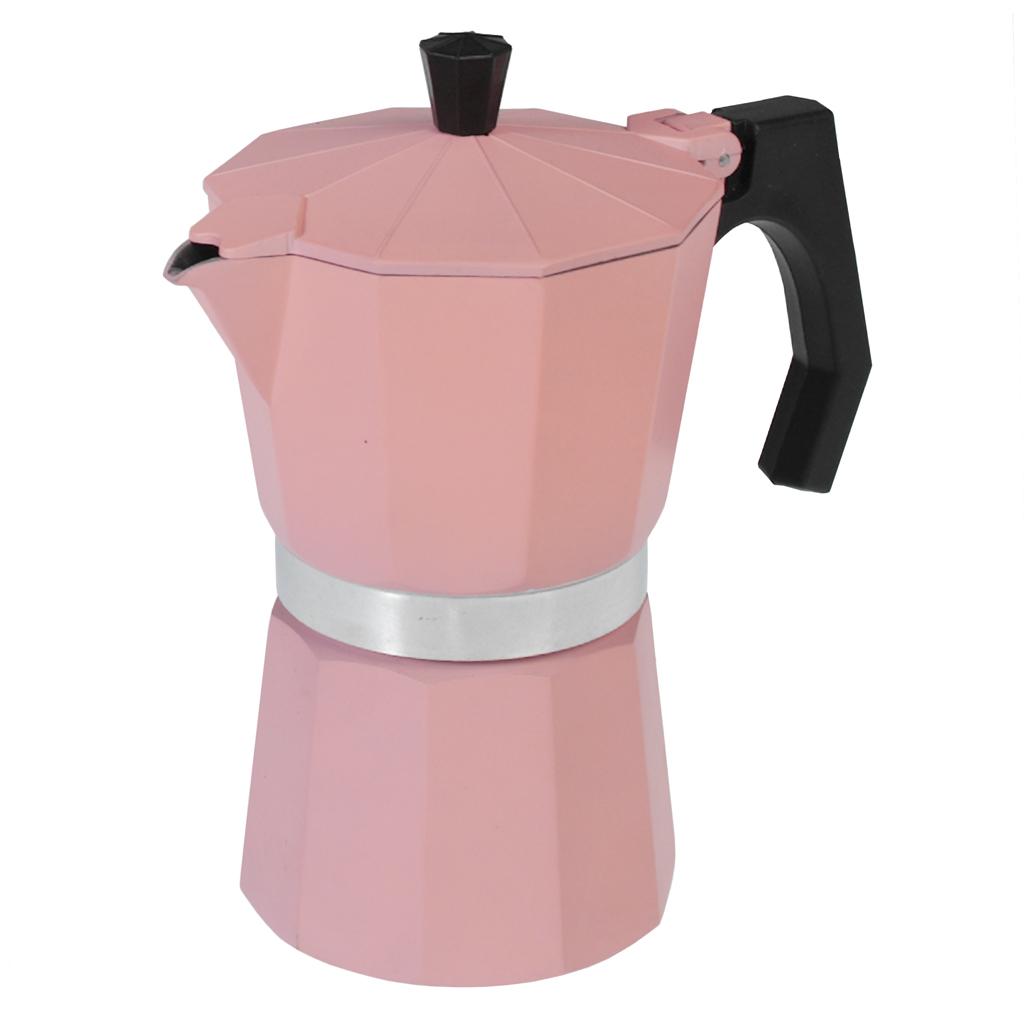 classic espresso coffee pot pink rex london dotcomgiftshop. Black Bedroom Furniture Sets. Home Design Ideas