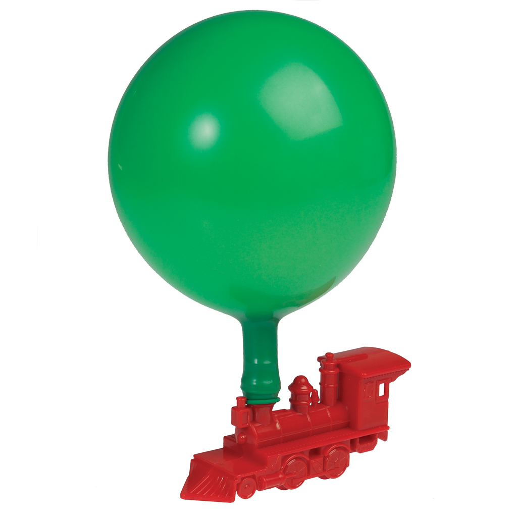 how to make balloon powered toys