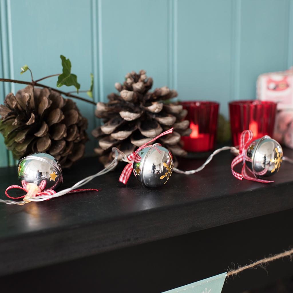 sleighbell christmas led lights