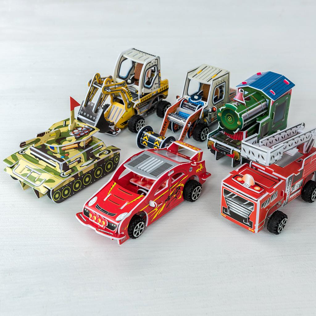 how to make a fire engine
