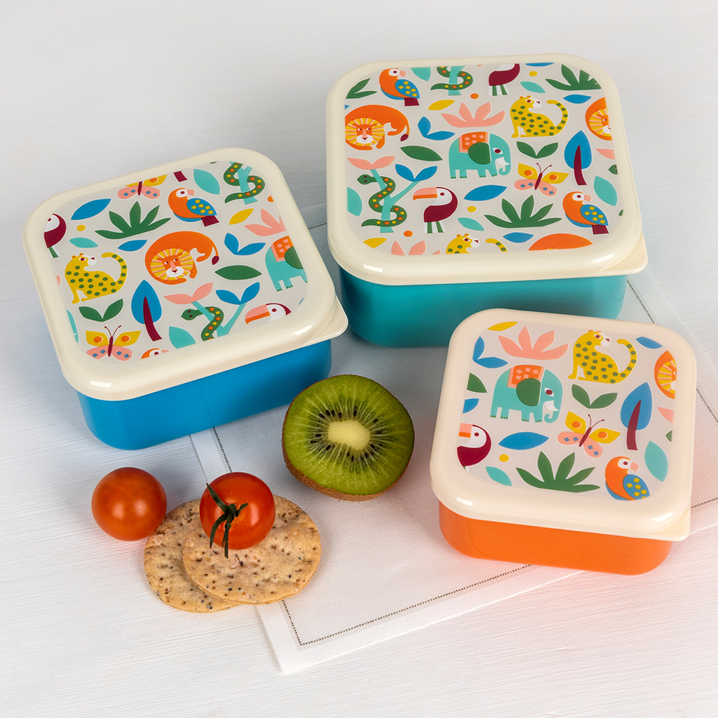 Wild Wonders snack boxes
