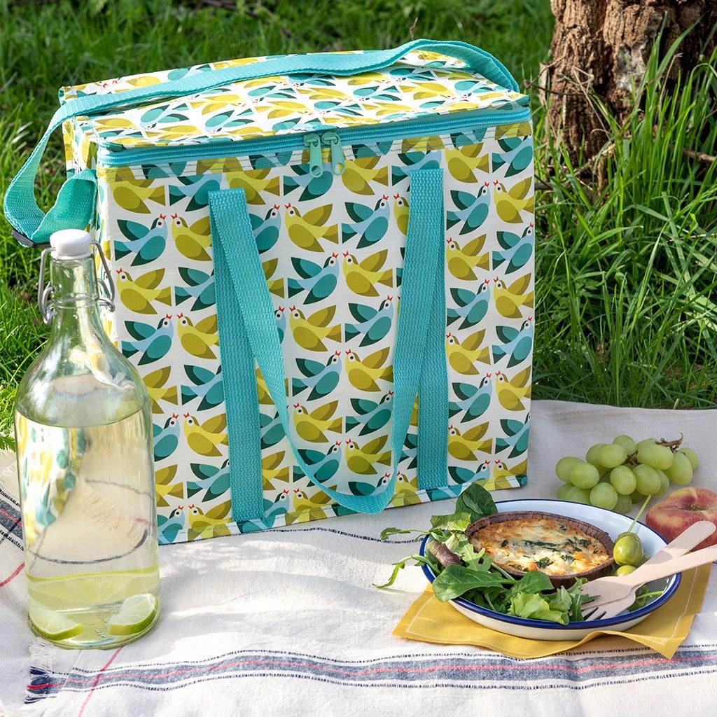 Love Birds picnic bag
