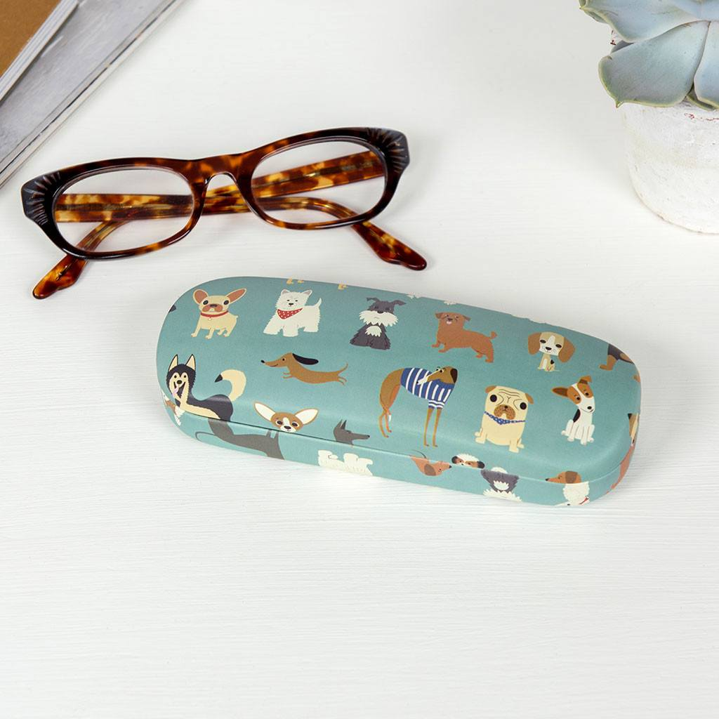 Best in Show glasses case and cleaning cloth