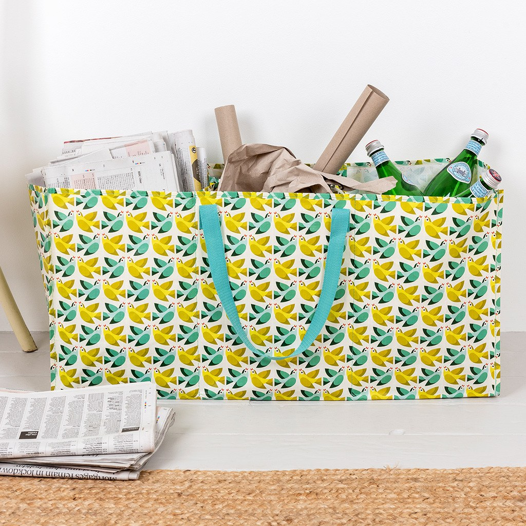 Love Birds recycling bag
