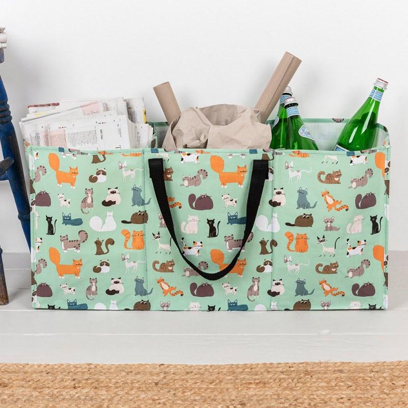 Nine Lives recycling bag