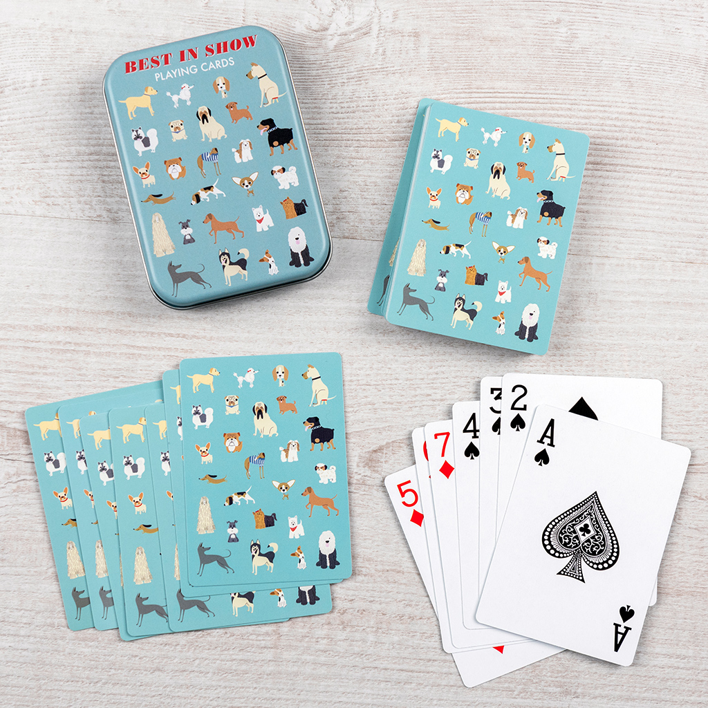 Best in Show playing cards