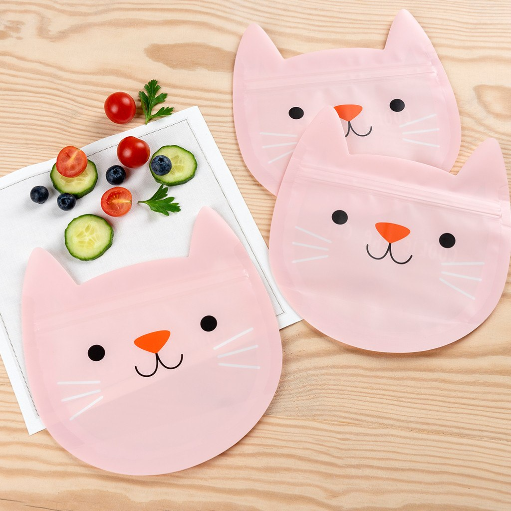 Cookie the Cat snack bags