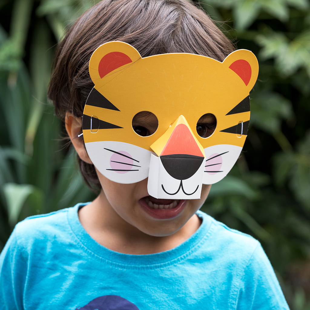 30 Diy Paper Mask Design Ideas Cool Crafts & How To Make A Tiger Mask Out Of Paper Plates \u2013 Best Lion And Tiger 2018