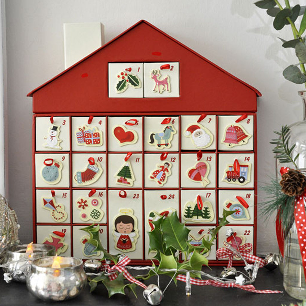 50 39 S Christmas House Advent Calendar Dotcomgiftshop