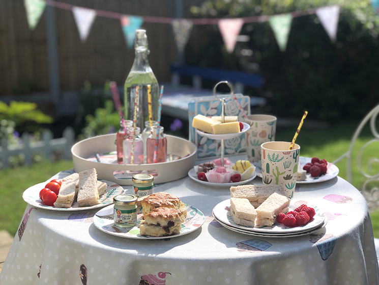 Afternoon Tea in the garden with Rex London sale