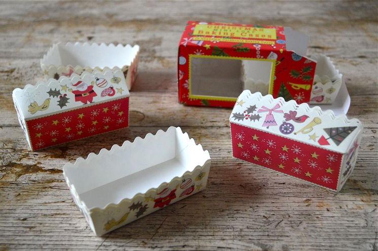 mini loaf cake cases