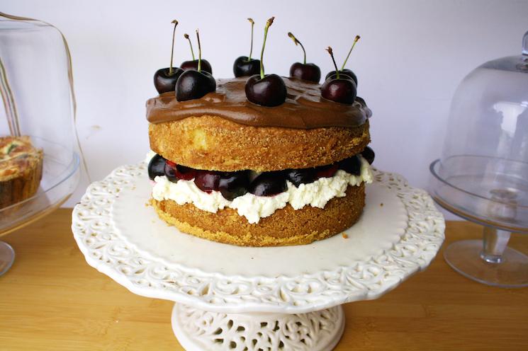 cherry brandy cake