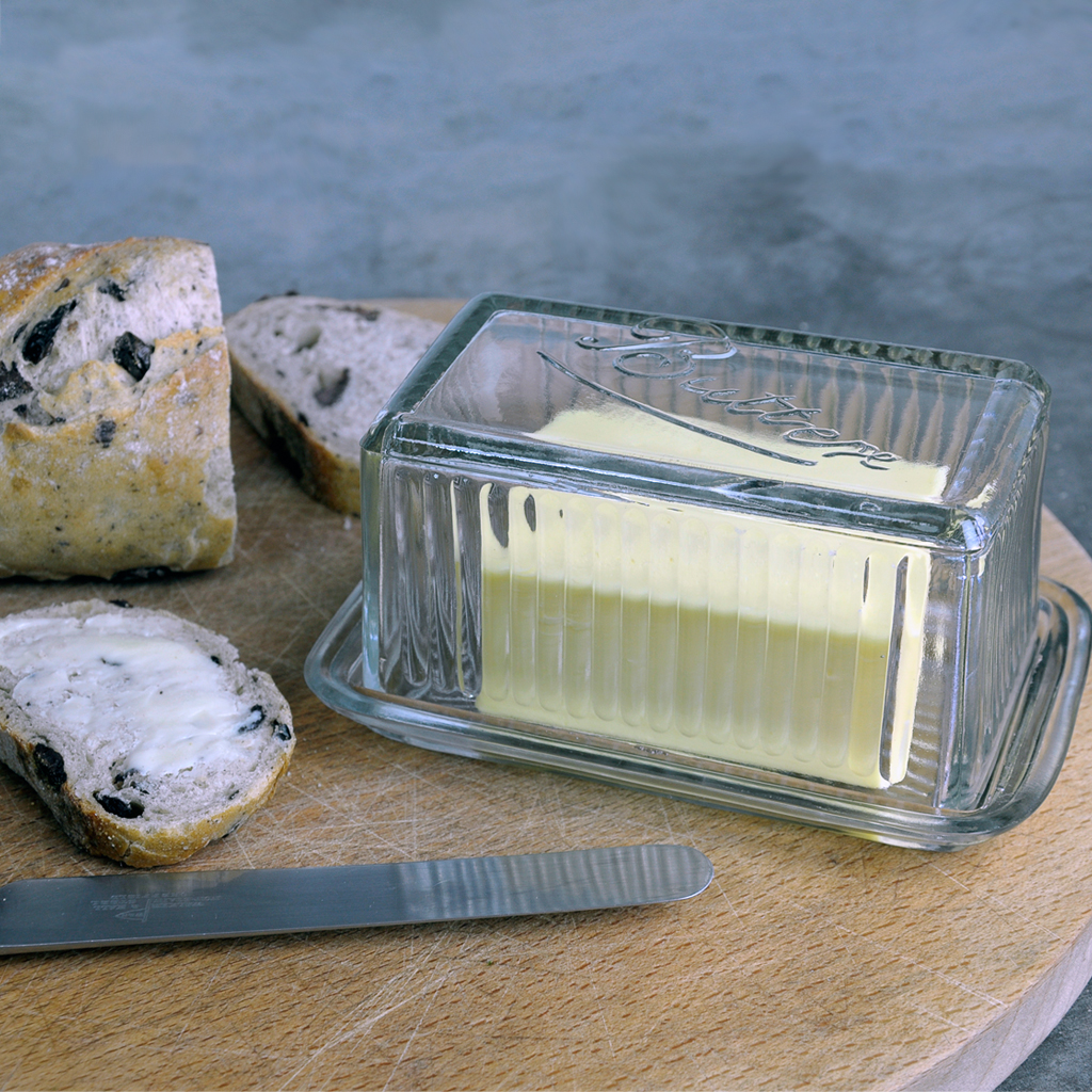 vintage butterdose aus glas rex london ehemals dotcomgiftshop. Black Bedroom Furniture Sets. Home Design Ideas