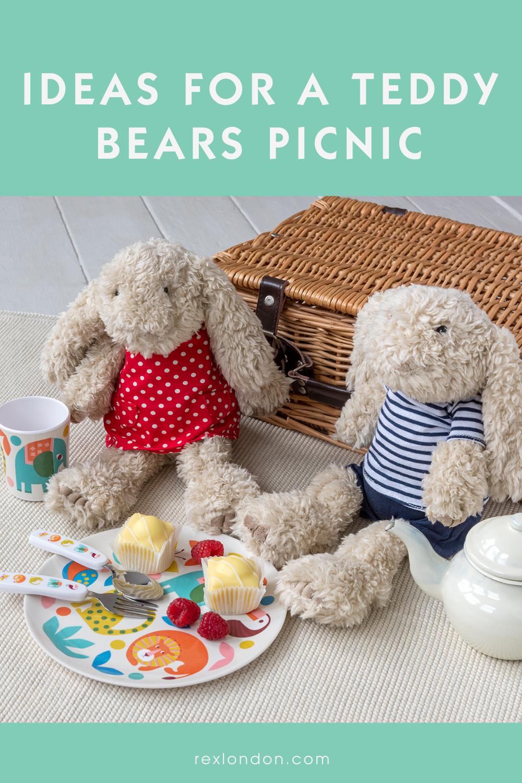 Teddy Bear Picnic pinterest pin