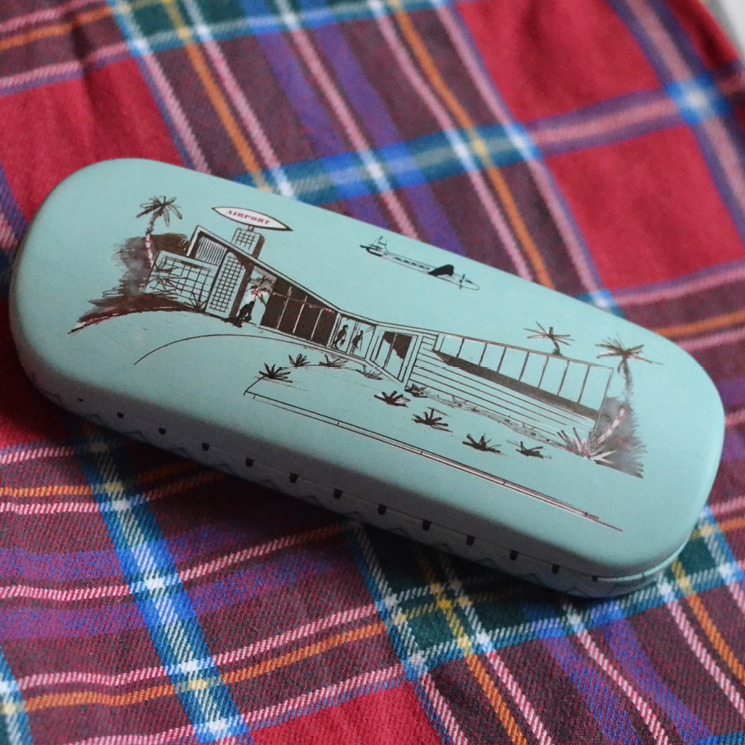 Departure Lounge glasses case and cloth