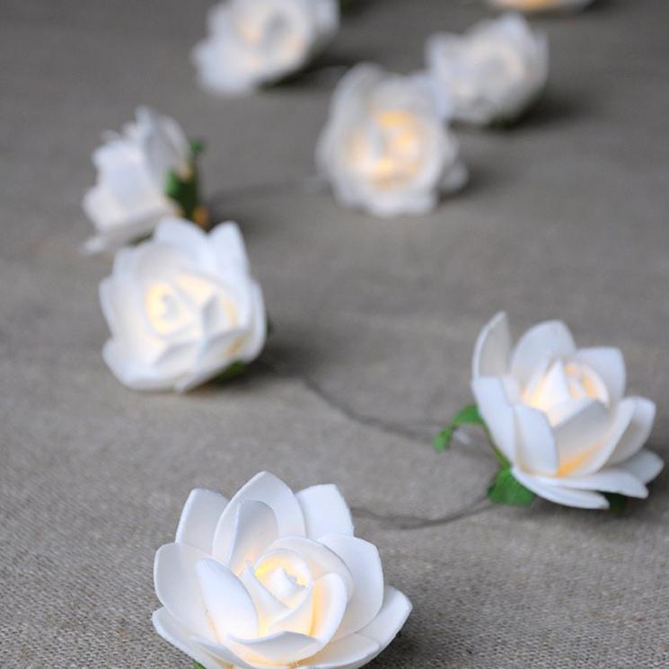 La Petite Rose LED lights