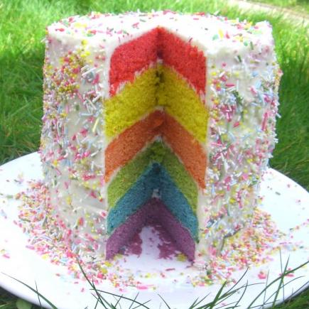 Large Square Victoria Sponge Cake Recipe