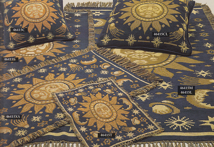 Rex London sun and moon rugs