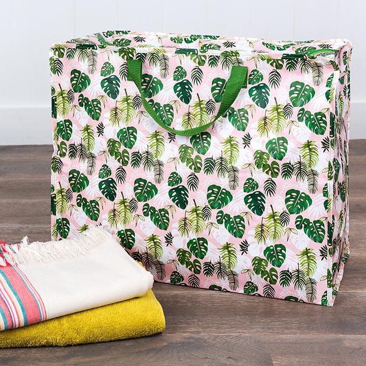 Rex London tropical palm jumbo bag