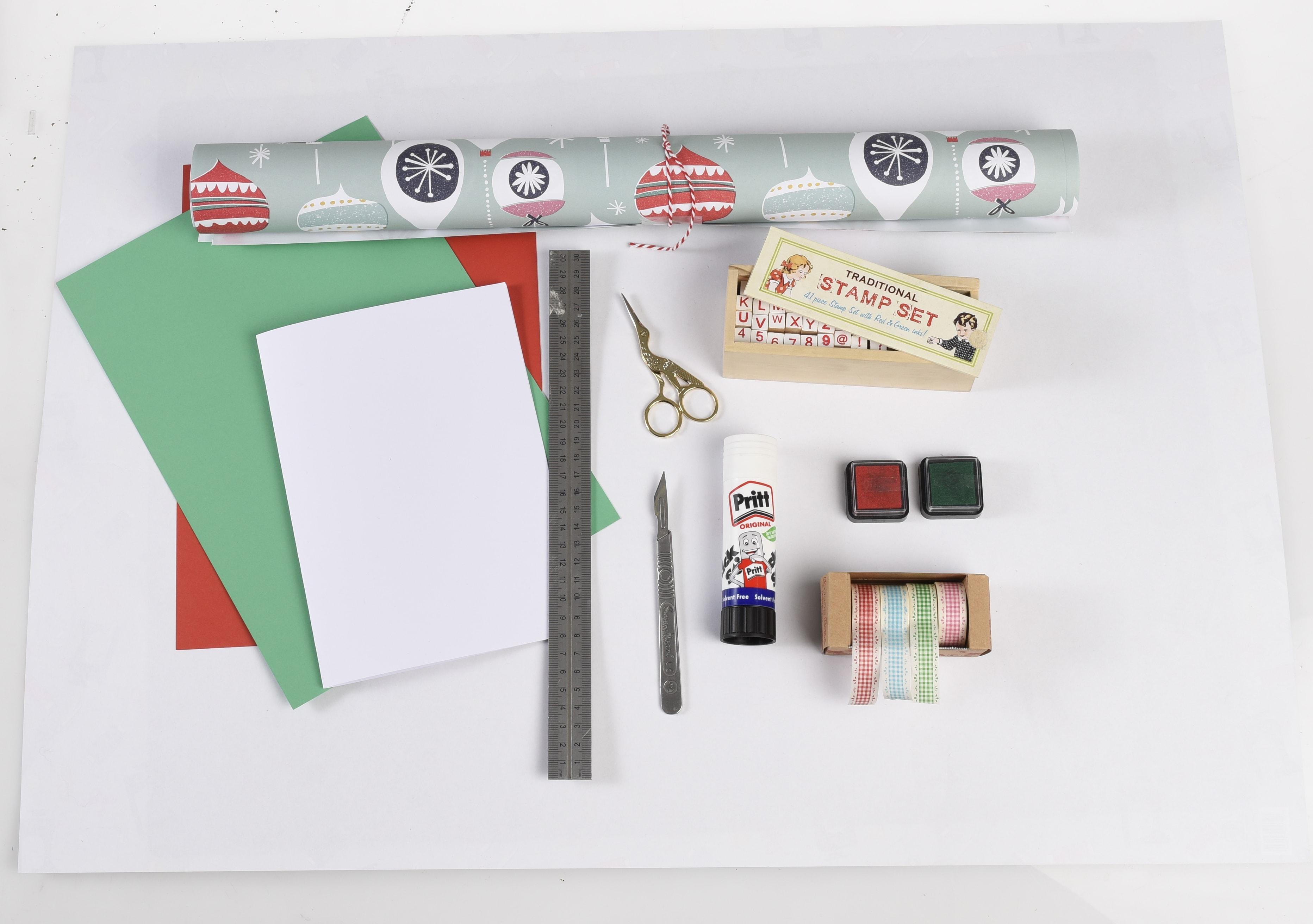 Homemade Christmas Cards | Rex London blog