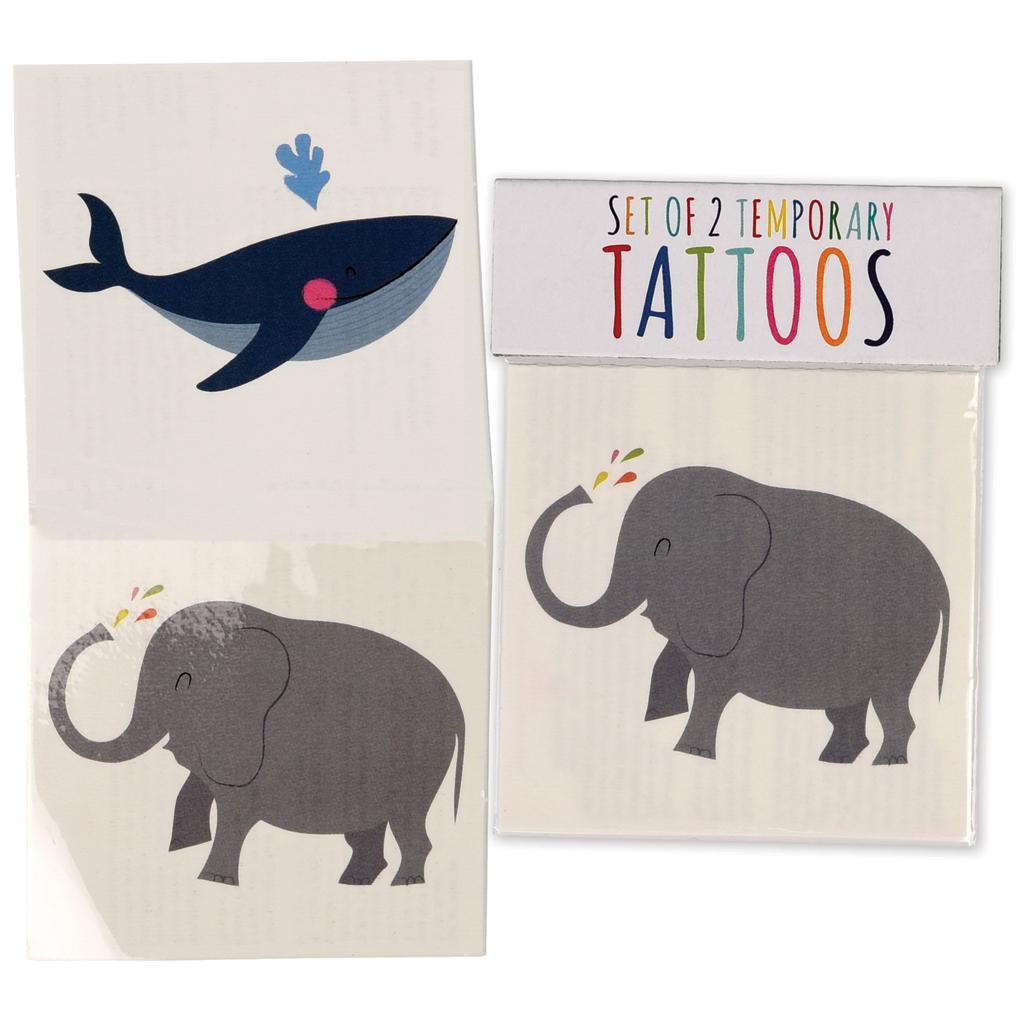 Nicht-Permanente Tattoos \