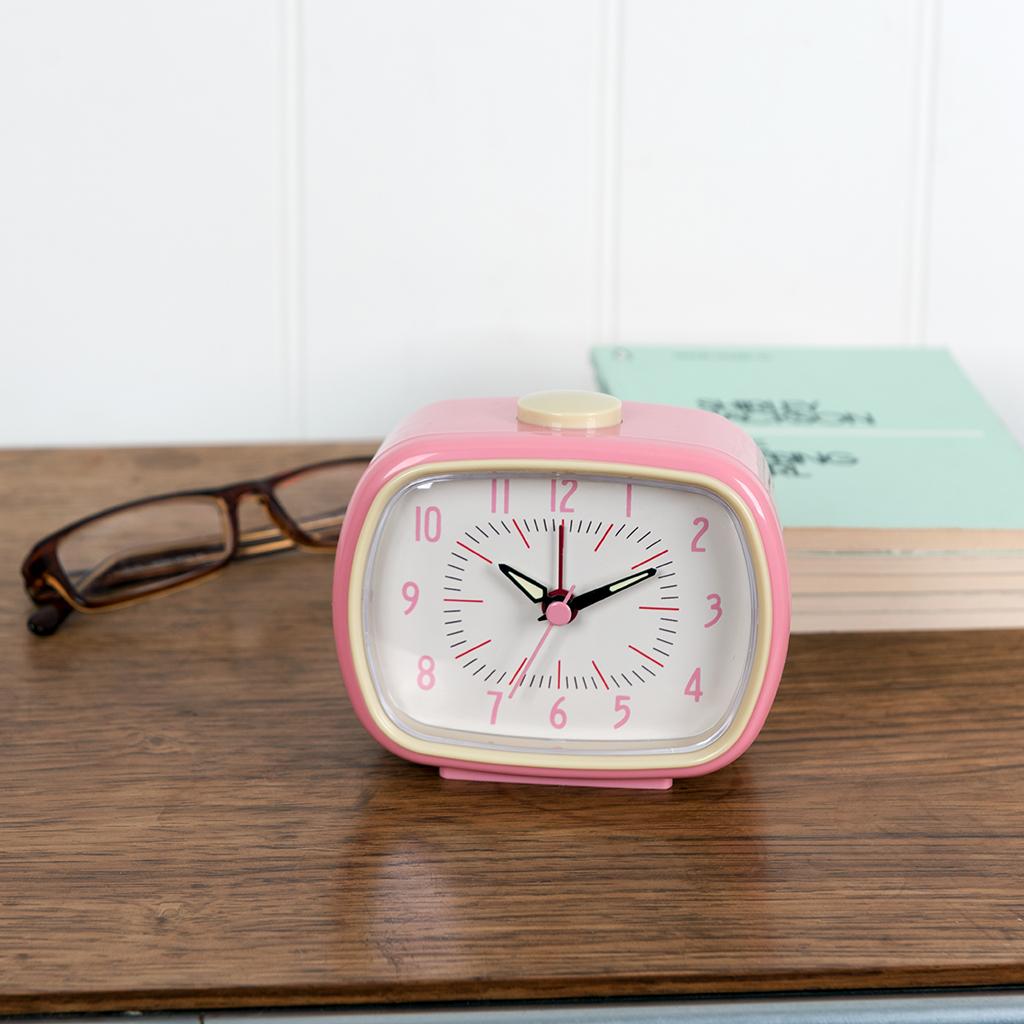 5a08a7c541b31a Alarm Clock Bakelite Pink