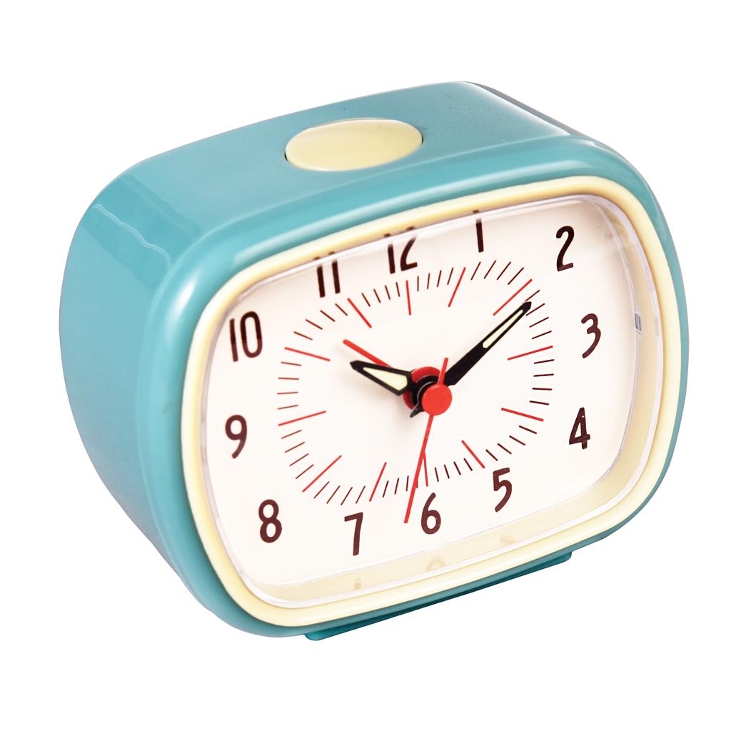 Retro Blue Alarm Clock | Rex London (dotcomgiftshop)