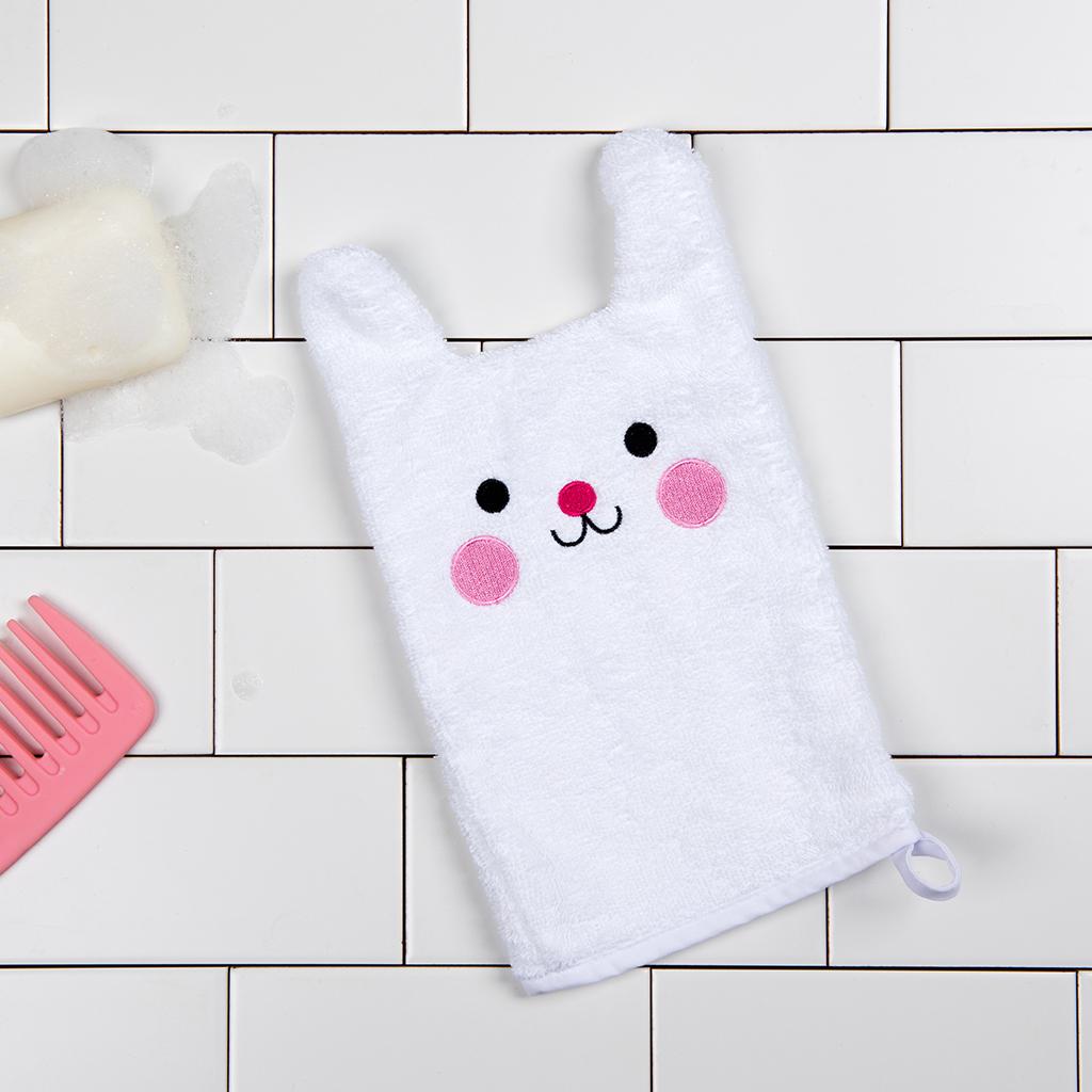 Bonnie the Bunny bath mitt