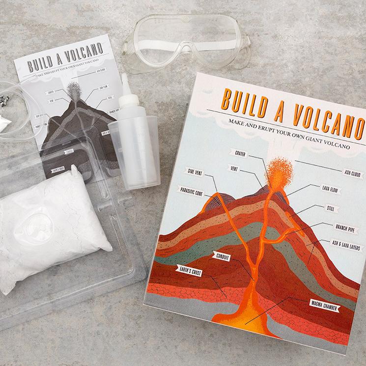 Build a volcano kit