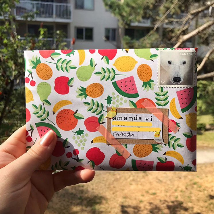 Pen pal envelope by bumblemail