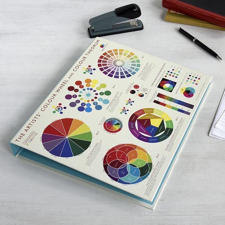 Colour Wheel ring binder