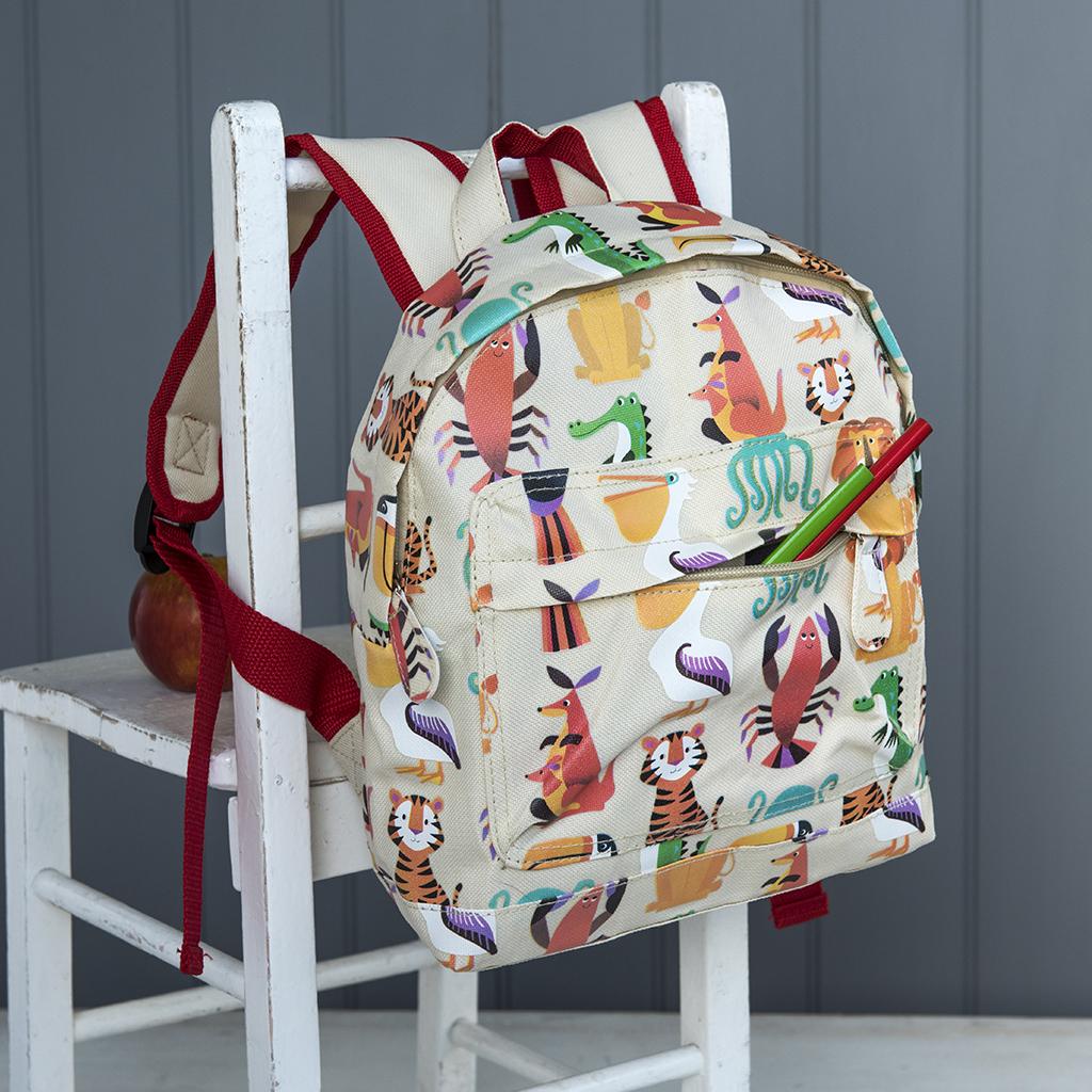 Colourful Creature Mini Backpack  1e4507030a30c